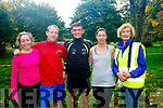 At the parkrun Tralee on Saturday were Oonagh Reidy, Matthew Galvin, Philip Galvin, Eimear Quaid, Martina McDonnell