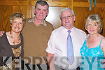 Western: Enjoying the night at the Country & Western Weekend in the Earl of Desmond Hotel, Tralee, on Friday evening were Maura Barton and Brendan Barton, Castlemaine, Donie and Maureen Looney of Glenbeigh..