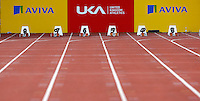 Photo: Richard Lane/Richard Lane Photography..Aviva World Trials & UK Championships athletics. 10/07/2009. 100m straight..