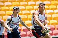 Rugby League World Cup. Sam Burgess during England captain's run. Brisbane, Australia. 28 Nov 2017. Copyright photo: Patrick Hamilton / www.photosport.nz MANDATORY CREDIT/BYLINE : Patrick Hamilton/SWpix.com/PhotosportNZ
