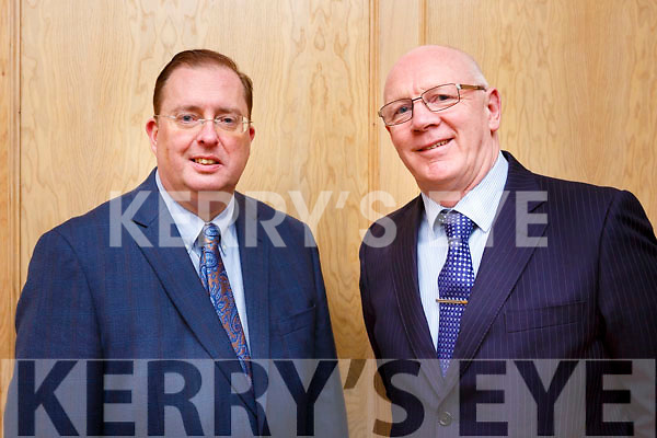 ohn Brasil TD and Tomas McEllistrim attending the Kerry Fianna Fail Comhairle Dail Ceantair, convention in the Ballygarry House Hotel on Sunday night last.