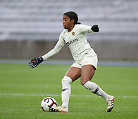20190113 - LILLE , FRANCE : PSG's Ashley Lawrence pictured during women soccer game between the women teams of Lille OSC and Paris Saint Germain  during the 16 th matchday for the Championship D1 Feminines at stade Lille Metropole , Sunday 13th of January 2019,  PHOTO Dirk Vuylsteke | Sportpix.Be