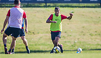 Carson, CA - January 12, 2018: The U.S. Men's National team train during their annual Winter camp at StubHub Center.