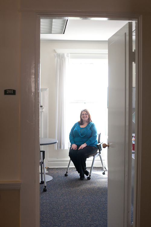 Employee of the Month, Carma West, poses for a portrait in Athens, Ohio on Tuesday, March 19, 2013. Photo by Chris Franz