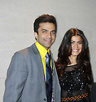 Nick Choksi & Shenaz Treasury - Actors, crew, production, family come to One Life To Live's wrap party and video tribute on November 18, 2011 at Capitale, New York City, New York.  (Photo by Sue Coflin/Max Photos)