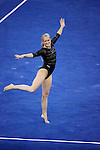 21 APR 2012:  Kyndal Robarts of the University of Utah performs her floor routine during the Division I Women's Gymnastics Championship held at the Gwinnett Center Arena in Duluth, GA. Joshua Duplechian/NCAA Photos