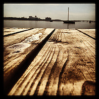 View from a wooden dock at the Halifax River, Holly Hill, FL. iPhone photo from the instgram photo stream of bcpix, Florida-based freelance photographer Brian Cleary.  (Photo by Brian Cleary/ www.bcpix.com )