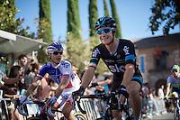 Nicolas Roche (IRL/SKY) on his way to the start<br /> <br /> stage 21: Alcala de Henares - Madrid (98km)<br /> 2015 Vuelta à Espana