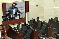 Debate Comision Segunda contra Alvaro Uribe sobre paramilitarismo, 17-09-2014