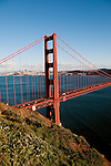Marin Headlands; sightseeing; Golden Gate Bridge, San Francisco, California, USA.  Photo copyright Lee Foster.  Photo # california108757
