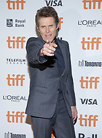 """TORONTO, ONTARIO - SEPTEMBER 10: Willem Dafoe attends the """"Motherless Brooklyn"""" premiere during the 2019 Toronto International Film Festival at Princess of Wales Theatre on September 10, 2019 in Toronto, Canada. Photo: PICJER/imageSPACE/MediaPunch"""