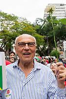 SÃO PAULO, SP, 28.10.2018 - ELEIÇÕES-2018 - Eduardo Suplicy (PT) durante votação do segundo turno no colégio Brazilian International School, neste domingo, 28, no bairro de Indianópolis em São Paulo. (Foto: Anderson Lira/Brazil Photo Press/Folhapress)