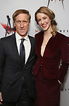 John Leonard Thompson and Erica Sweany attends the Broadway Opening Night After Party for 'M. Butterfly' on October 26, 2017 at Red Eye Grill in New York City.