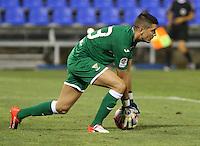 Leganes's  Jon Ander Serantes during the XXXVII trophy of Legane's City between CD Leganes and Villarreal CF at Butarque Stadium. August 13, 2016. (ALTERPHOTOS/Rodrigo Jimenez) /NORTEPHOTO