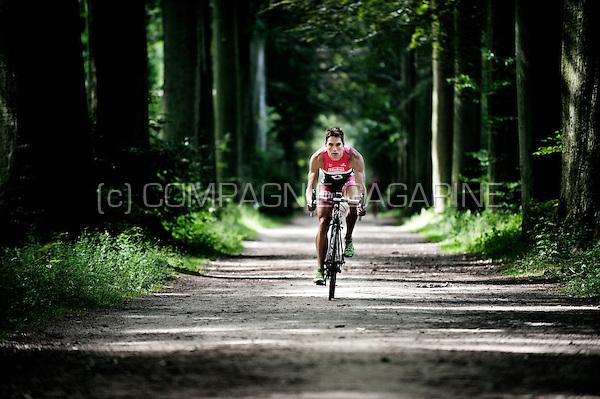 Belgian triathlon athlete and former Belgian champion Simon De Cuyper (Belgium, 28/06/2012)