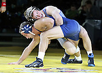 SIOUX FALLS, SD: DECEMBER 8: Alex Kocer from South Dakota State battles with Shawn Hatlestad from Augustana in their 149 pound match Sunday afternoon at the Sanford Pentagon. (photo by Dave Eggen/Inertia)