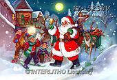 CHRISTMAS SANTA, SNOWMAN, WEIHNACHTSMÄNNER, SCHNEEMÄNNER, PAPÁ NOEL, MUÑECOS DE NIEVE, paintings+++++,KL5238V,#X#
