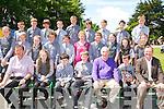 GRADUATION: Rang 6th Gaelscoil Aodáin, Castleisland who graduated on Tuesday. Front l-r: Tomás ÓConchúie (P.O),Danielle NíRiada, Tomás Breathnach, Rian Mag Uidhir, Wheehie Fogarty (special guest), Sean Breathrach (Dalta na Bliana) agus Colm Ó Ciardubháin.2nd row l-r: Cait Nic Dhabhoc, Benjamin Setterfield, Leanine Ní Shiochrú, Niall Ó Seanacháin, Pádraigín Uí Chonaill(múinteoir), Micheál de Príonndaibhéil, Síohra Ní Chonchúir,Clodagh Ní Bhruddair, Maire Ní Chathasaigh agus Moira Ní Laoire. Back l-r: Seámai ÓCatháin, Stiafan O'Murchú, Seán Ó Brosnacháin Oó Riada, Dónal Ó h/Ci, Luka ÓBrosnacháin, Pádraig de Brún, Adam Ó Donnchú, Eamonn Ó Nualláin agus Dáithí O' Seanacháin