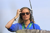 Sound lady on the 15th tee during Thursday's Round 1 of the Dubai Duty Free Irish Open 2019, held at Lahinch Golf Club, Lahinch, Ireland. 4th July 2019.<br /> Picture: Eoin Clarke | Golffile<br /> <br /> <br /> All photos usage must carry mandatory copyright credit (© Golffile | Eoin Clarke)