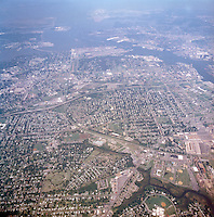 1998 September 05..Aerial..High altitude of census tracts around Elizabeth River in Portsmouth & Norfolk..Gene Woolridge.NEG# 11678 - 38.NRHA#..
