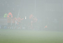 :: THERE'S A FOOTBALL GAME BEING PLAYED SOMEWHERE OUT THERE. THE FOG COMES DOWN THICK DURING THE GAME AT TANNADICE ::