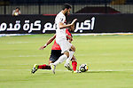 Egypt's Zamalek and Fatah el-Rebati compete during Arab Club championship in Cairo, Egypt on July 23, 2017. Photo by Amr Sayed
