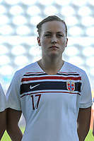 20200310 Faro , Portugal : Norwegian defender Kristine Minde (17) pictured during the female football game between the national teams of New Zealand and Norway on the third matchday of the Algarve Cup 2020 , a prestigious friendly womensoccer tournament in Portugal , on Tuesday 10 th March 2020 in Faro , Portugal . PHOTO SPORTPIX.BE | STIJN AUDOOREN