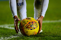 Leeds United's Pablo Hernandez prepares to take a corner<br /> <br /> Photographer Alex Dodd/CameraSport<br /> <br /> The EFL Sky Bet Championship -  Leeds United v Derby County - Friday 11th January 2019 - Elland Road - Leeds<br /> <br /> World Copyright &copy; 2019 CameraSport. All rights reserved. 43 Linden Ave. Countesthorpe. Leicester. England. LE8 5PG - Tel: +44 (0) 116 277 4147 - admin@camerasport.com - www.camerasport.com