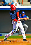3 March 2009: Washington Nationals' second baseman Anderson Hernandez in action against Italy during a Spring Training exhibition game at Space Coast Stadium in Viera, Florida. The Nationals defeated Italy 9-6. Mandatory Photo Credit: Ed Wolfstein Photo