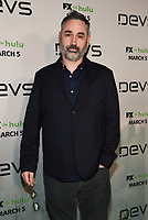 "LOS ANGELES - MARCH 2: Alex Garland attends the premiere of the new FX limited series ""Devs"" at ArcLight Cinemas on March 2, 2020 in Los Angeles, California. (Photo by Frank Micelotta/FX Networks/PictureGroup)"