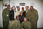Actress Cicely Tyson (Guiding Light) came to see and pose with Black Angels Over Tuskegee - The Story of the Tuskegee Airmen in an off Broadway play on March 25, 2010 at St Luke's Theate, NYC which has been extended. Written and directed by Layon Gray, it stars Lamman Rucker (ATWT & AMC), and now Tobias Truvillion (OLTL), Lawrence Saint-Victor (GL) and David Wendell Boykins, Antonio D. Charity, Demetrius Grosse, Thom Scott, Derek Shaun and Richard Skidmore.(Photos by Sue Coflin/Max Photos)