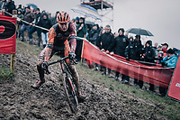 Daan Soete (BEL/Pauwels Sauzen-Vastgoedservice)<br /> <br /> Elite Men's Race<br /> Belgian National CX Championschips<br /> Kruibeke 2019