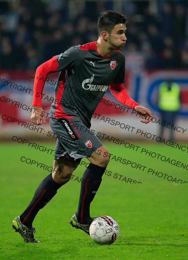 Fudbal Jelen Super League season 2015-2016<br /> Radnicki Nis v Crvena Zvezda<br /> Marko Grujic<br /> Nis, 22.11.2015.<br /> foto: Srdjan Stevanovic/Starsportphoto&copy;