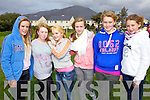 watching the races at the Cahersiveen races on Sunday were l-r; Alannah O'Sullivan, Naomi O'Connor, Shaleen O'Connell, Eimer Kissane, Saidbh Fitzgerald and Cliodhna Fitzgerald.