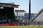 nph00250:  17.05.2020, Brita-Arena, Wiesbaden, GER, 2.FBL, Wehen-Wiesbaden vs VfB Stuttgart 17.05.2020 , <br /> Nur für journalistische Zwecke!<br /> <br /> Gemäß den Vorgaben der DFL Deutsche Fußball Liga ist es untersagt, in dem Stadion und/oder vom Spiel angefertigte Fotoaufnahmen in Form von Sequenzbildern und/oder videoähnlichen Fotostrecken zu verwerten bzw. verwerten zu lassen. <br /> <br /> Only for editorial use! <br /> <br /> DFL regulations prohibit any use of photographs as image sequences and/or quasi-video..<br /> im Bild<br /> Anzeigetafel <br /> Foto: Robin Rudel/Pressefoto Rudel/Pool/via nordphoto / Bratic