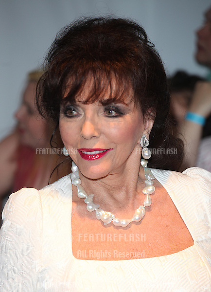 Joan Collins arriving for the 013 Glamour Awards, Berkeley Square, London. 04/06/2013 Picture by: Alexandra Glen / Featureflash