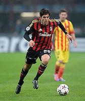 FUSSBALL  CHAMPIONS LEAGUE   SAISON 2013/2014   Vorrunde     AC Mailand - FC Barcelona       22.10.2013 Kaka (AC Mailand) am Ball