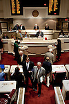 Members of the Alabama House of Representatives in session at the Alabama State House in Montgomery, Alabama April 14, 2010.