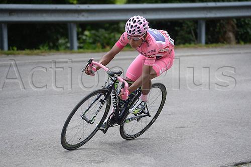 31.05.2014, Maniago to Monte Zoncolan, Italy. Giro D Italia Stage 20.  Movistar 2014, Quintana Rojas Nairo Alexander