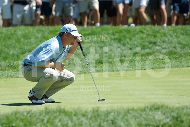 J.B. HOLMES (USA) 4.Runde, 88th PGA Championship Golf, Medinah Country Club, IL, USA
