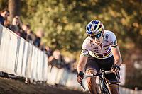 World Champion Wout Van Aert (BEL) <br /> <br /> UEC CYCLO-CROSS EUROPEAN CHAMPIONSHIPS 2018<br /> 's-Hertogenbosch – The Netherlands<br /> Men Elite Race