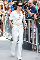 NEW YORK, EUA, 29.06.2017 -  SOPHIE-COOKSON  - A atriz britanica Sophie Cookson é vista no Soho na Ilha de Manhattan em New York nesta quinta-feira, 29 junho. (Foto: Vanessa Carvalho/Brazil Photo Press)