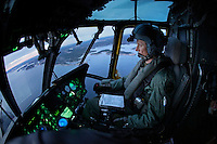 Pilot Bj&oslash;rn Bottolfsen in the cockpit. Crew from Norwegian Air Force 330 squadron, flying Westland Sea King helicopter. The core mission of the squadron is SAR (search and rescue), but they also fly HEMS (Helicopter Emergency Medical Service), complementing the civilian air ambulance service.<br />