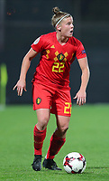 20191008 CLUJ NAPOCA:Belgium's Laura Deloose (22)  is pictured at the match between Belgium Women's National Team and Romania Women's National Team as part of EURO 2021 Qualifiers on 8th of October 2019 at CFR Stadium, Cluj Napoca, Romania. PHOTO SPORTPIX | SEVIL OKTEM