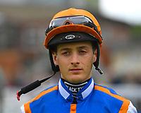 Jockey Harry Bentley during Evening Racing at Salisbury Racecourse on 11th June 2019