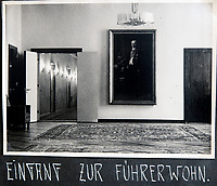 BNPS.co.uk (01202 558833)<br /> Pic: Jones&Jacob/BNPS<br /> <br /> Entrance to Hitlers rooms at the Reich Chancellery.<br /> <br /> Springtime for Hitler...Chilling album of pictures taken by one of Hitlers bodyguards illustrates the Nazi dictators rise to power.<br /> <br /> An unseen album of photographs taken by a member of Hitlers own elite SS bodyguard division in the years leading up to the start of WW2.<br /> <br /> The 1st SS Panzer Division 'Leibstandarte SS Adolf Hitler' or LSSAH began as Adolf Hitler's personal bodyguard in the 1920's responsible for guarding the Führer's 'person, offices, and residences'.