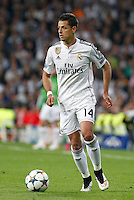 Real Madrid´s Mexican forward Chicharito