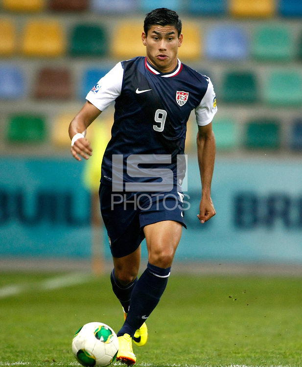USA's Mario Rodriguez during their FIFA U-20 World Cup Turkey 2013 Group Stage Group A soccer match Ghana betwen USA at the Kadir Has stadium in Kayseri on June 27, 2013. Photo by Aykut AKICI/isiphotos.com