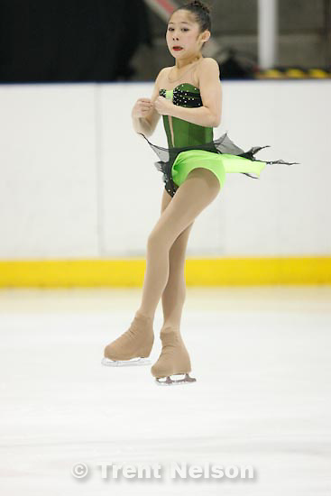 Trent Nelson  |  The Salt Lake Tribune.Amanda Verheydt competes at the 2011 U.S. Junior Figure Skating Championships in Salt Lake City Thursday, December 16, 2010.