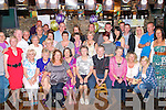 70TH BIRTHDAY: Kitty Healy, Stacks Villas, Tralee (seated 4th left) enjoying a great time celebrating her 70th birthday with a large group of family and friends at Greyhound bar, Tralee on Thursday.
